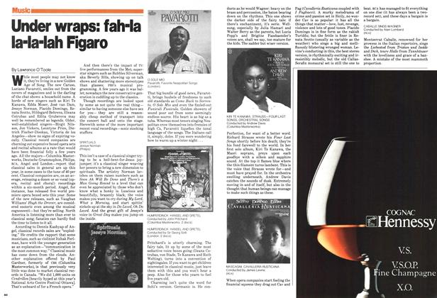 Article Preview: Under wraps: fah-la la-la-lah Figaro, December 1979 | Maclean's