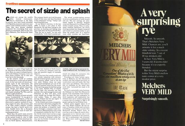 Article Preview: The secret of sizzle and splash, December 1979 | Maclean's