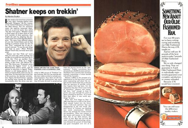 Article Preview: Shatner keeps on trekkin', December 1979 | Maclean's