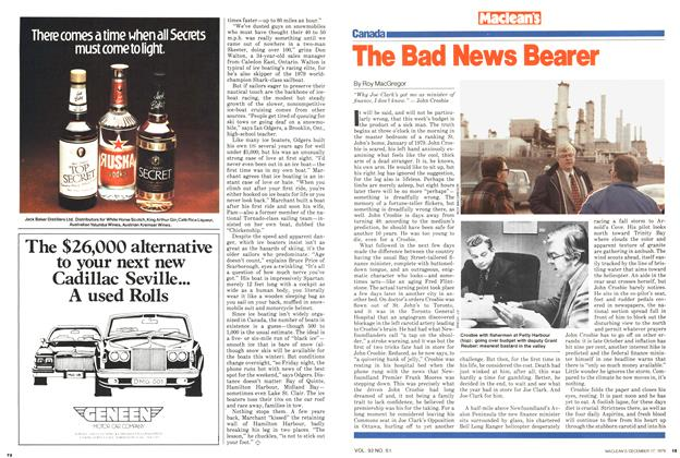 Article Preview: The Bad News Bearer, December 1979 | Maclean's