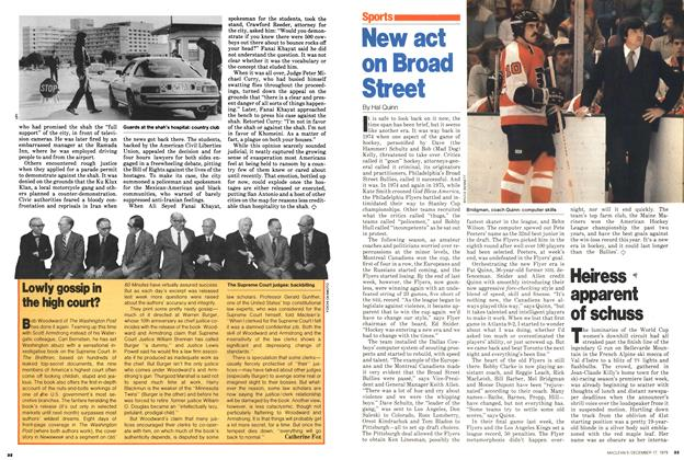 Article Preview: New act on Broad Street, December 1979 | Maclean's