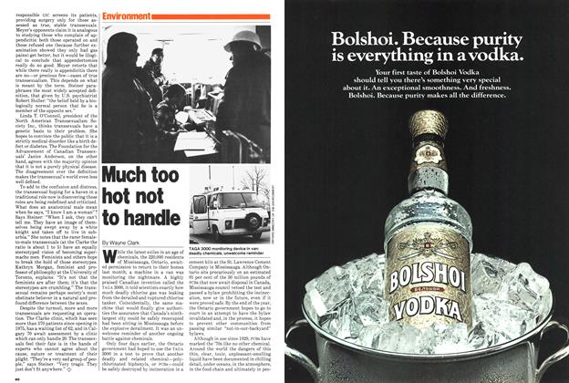 Article Preview: Much too hot not to handle, December 1979 | Maclean's