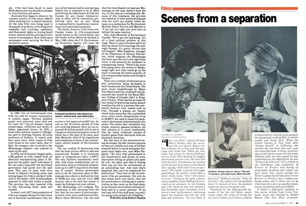 Article Preview: Scenes from a separation, December 1979 | Maclean's