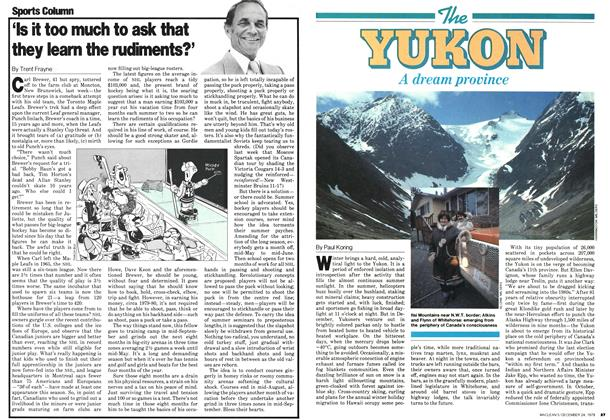 Article Preview: The YUKON A dream province, December 1979 | Maclean's