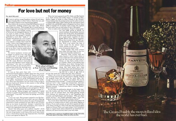 Article Preview: For love but not for money, December 1979 | Maclean's