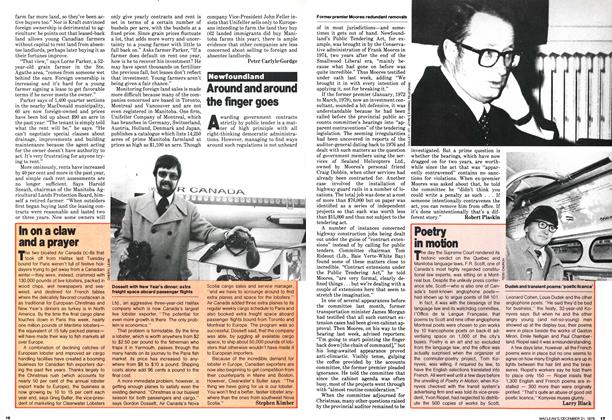 Article Preview: Poetry in motion, December 1979 | Maclean's