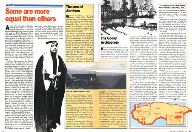 Article Preview: Some are more equal than others, December 1979 | Maclean's