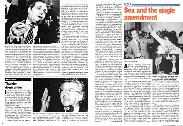Article Preview: Sex and the single amendment, December 1979 | Maclean's