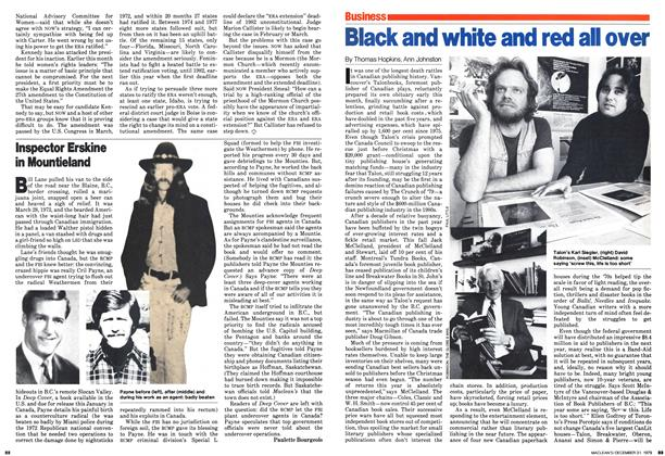 Article Preview: Black and white and red all over, December 1979 | Maclean's