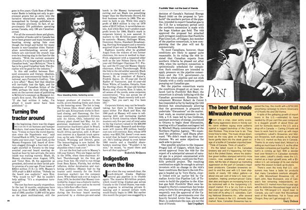 Article Preview: Indigestion down the line, December 1979 | Maclean's