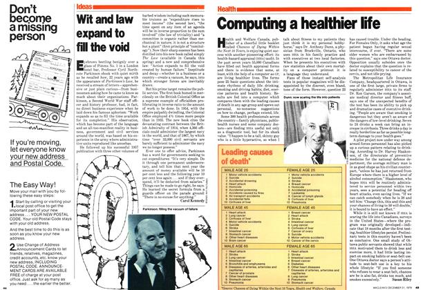 Article Preview: Wit and law expand to fill the void, December 1979 | Maclean's