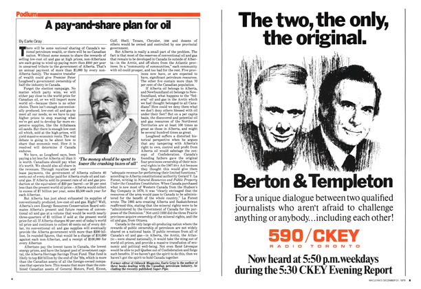 Article Preview: A pay-and-share plan for ol, December 1979 | Maclean's
