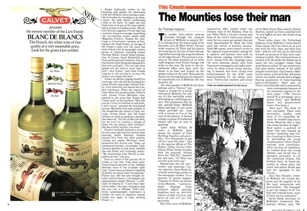 Article Preview: The Mounties lose their man, December 1979 | Maclean's
