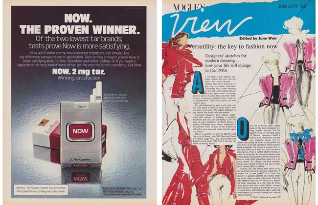 Article Preview: Versatility: the key to fashion now, January 1980 | Maclean's