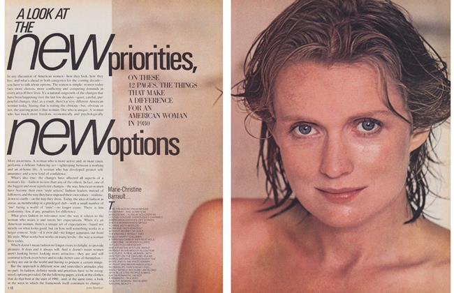 Article Preview: A LOOK AT THE new priorities, new options, January 1980 | Maclean's