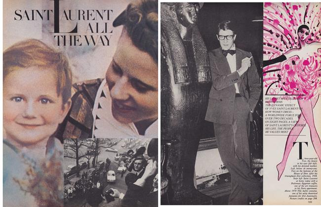 Article Preview: SAINT LAURENT ALL THE WAY, January 1980 | Maclean's