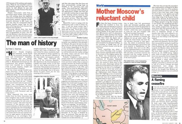 Article Preview: The man of history, January 1980 | Maclean's