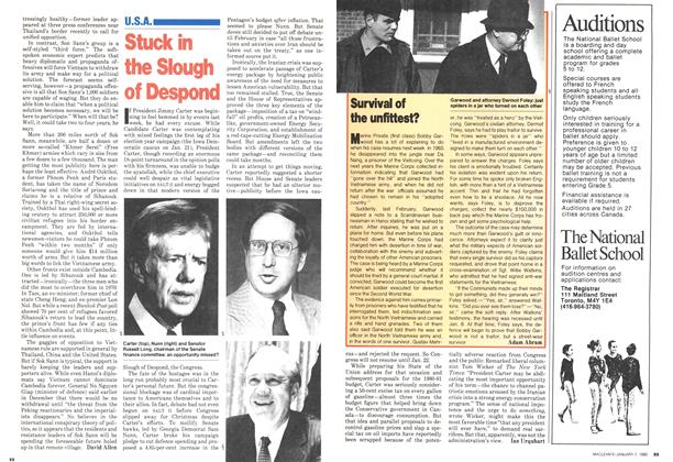 Article Preview: Stuck in the Slough of Despond, January 1980 | Maclean's