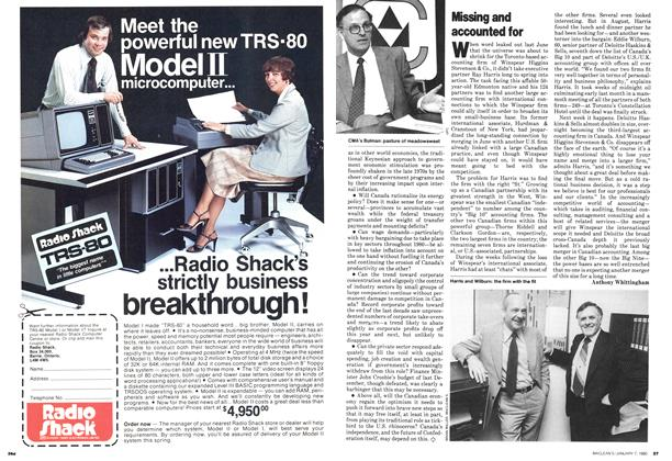 Article Preview: Missing and accounted for, January 1980   Maclean's