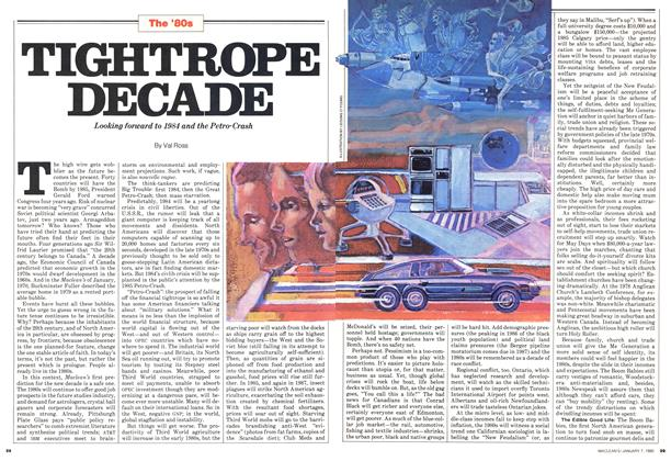 Article Preview: TIGHTROPE DECADE, January 1980 | Maclean's