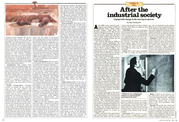 Article Preview: After the industrial society, January 1980 | Maclean's