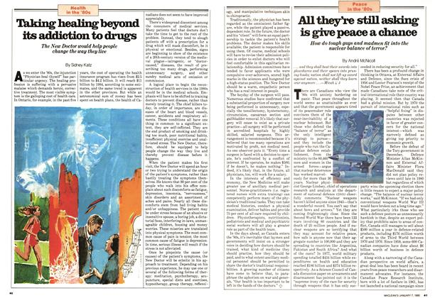 Article Preview: Taking healing beyond its addiction to drugs, January 1980 | Maclean's