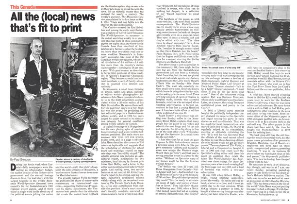 Article Preview: All the (local) news that's fit to print, January 1980 | Maclean's