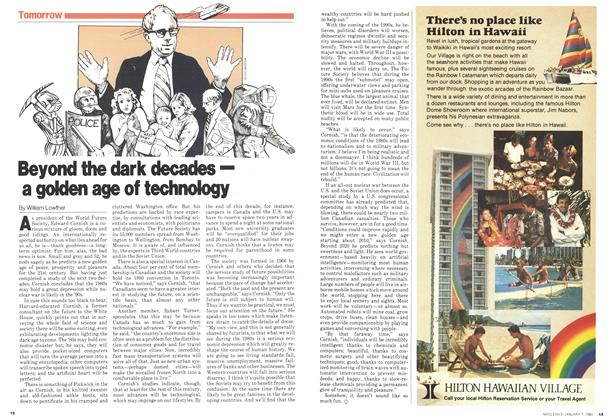 Article Preview: Beyond the dark decades— a golden age of technology, January 1980 | Maclean's
