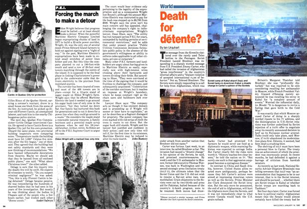 Article Preview: Death for détente?, January 1980 | Maclean's