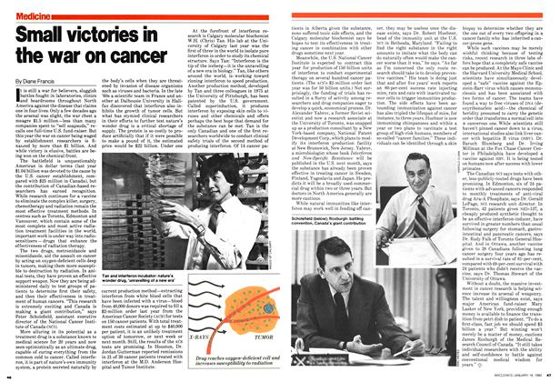Article Preview: Small victories in the war on cancer, January 1980 | Maclean's