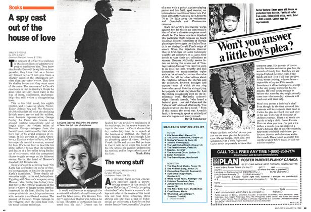 Article Preview: The wrong stuff, January 1980 | Maclean's