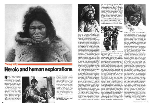 Article Preview: Heroic and human explorations, January 1980 | Maclean's