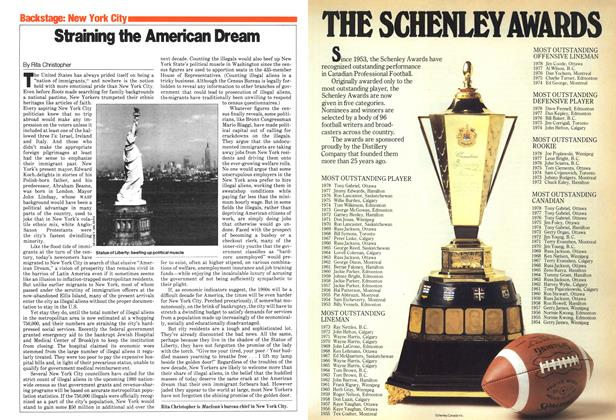 Article Preview: Straining the American Dream, January 1980 | Maclean's