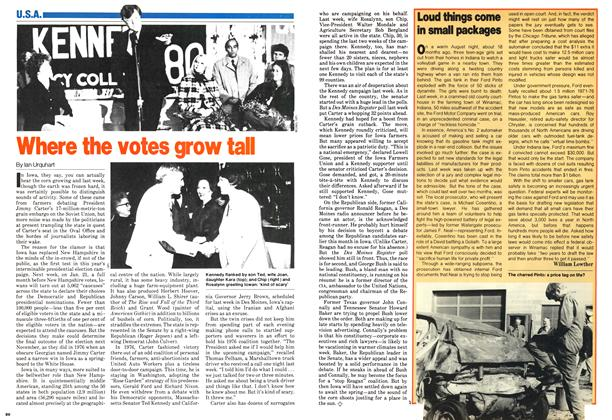 Article Preview: Where the votes grow tall, January 1980 | Maclean's