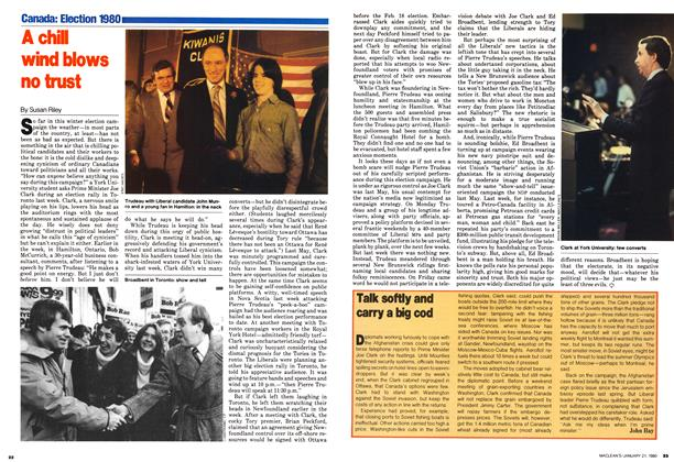 Article Preview: Talk softly and carry a big cod, January 1980 | Maclean's