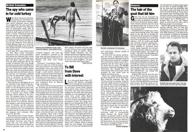 Article Preview: To Bill from Dave with interest, January 1980 | Maclean's