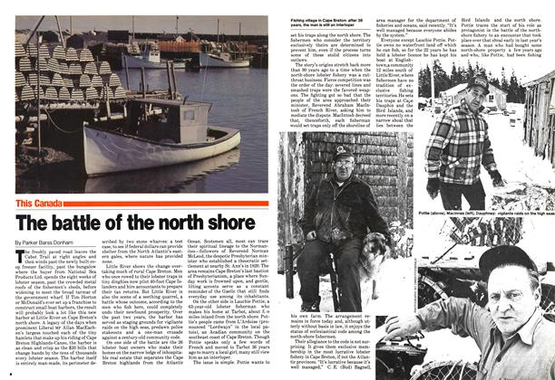Article Preview: The battle of the north shore, January 1980 | Maclean's