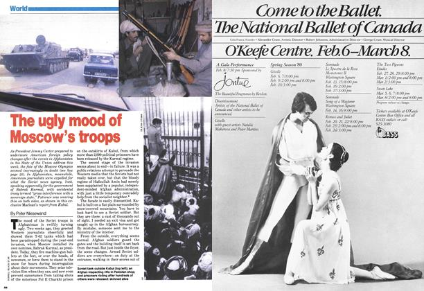 Article Preview: The ugly mood of Moscow's troops, January 1980 | Maclean's
