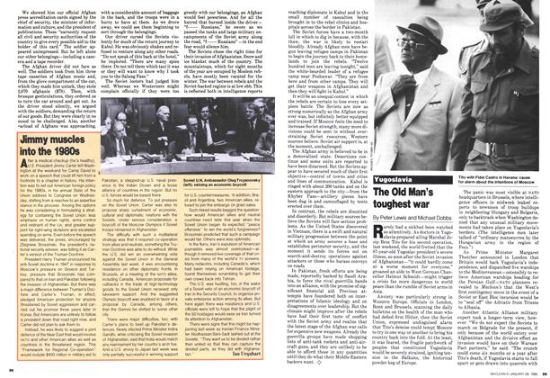 Article Preview: Jimmy muscles into the 1980s, January 1980 | Maclean's