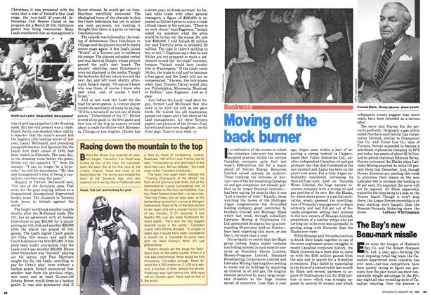 Article Preview: Moving off the back burner, January 1980 | Maclean's