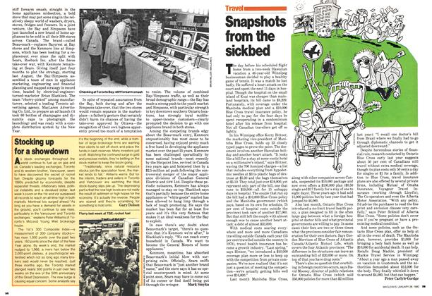 Article Preview: Snapshots from the sickbed, January 1980 | Maclean's