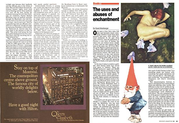 Article Preview: The uses and abuses of enchantment, January 1980 | Maclean's