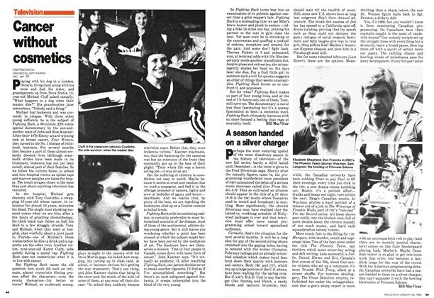 Article Preview: A season handed on a silver charger, January 1980 | Maclean's