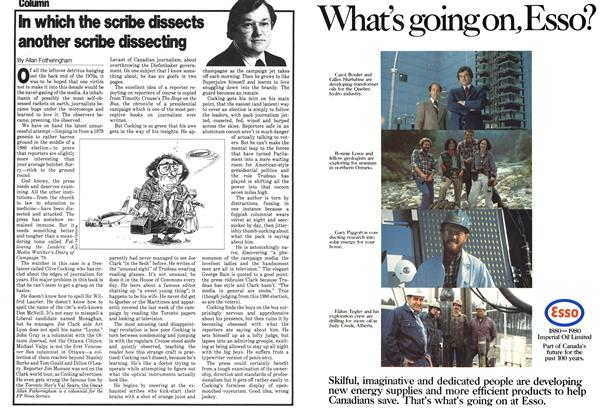 Article Preview: In which the scribe dissects another scribe dissecting, January 1980 | Maclean's
