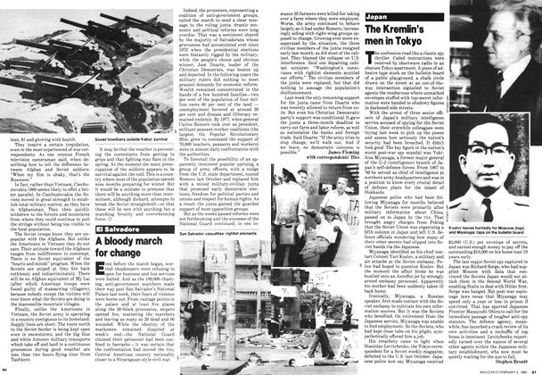 Article Preview: A bloody march for change, February 1980 | Maclean's