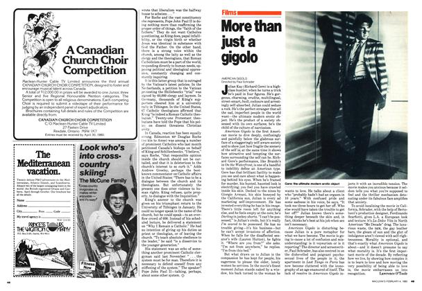 Article Preview: More than just a gigolo, February 1980 | Maclean's