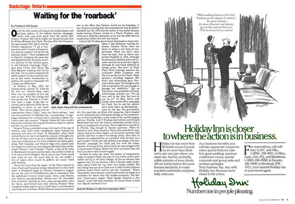 Article Preview: Waiting for the 'roarback', February 1980 | Maclean's