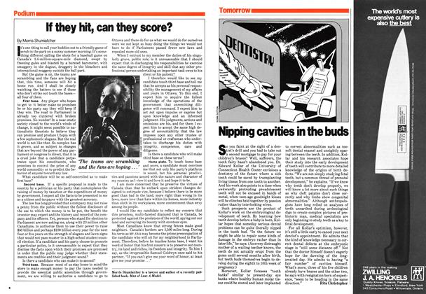 Article Preview: If they hit, can they score?, February 1980 | Maclean's