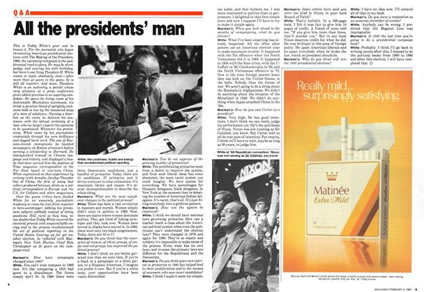 Article Preview: All the presidents' man, February 1980 | Maclean's