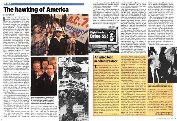 Article Preview: The hawking of America, February 1980 | Maclean's